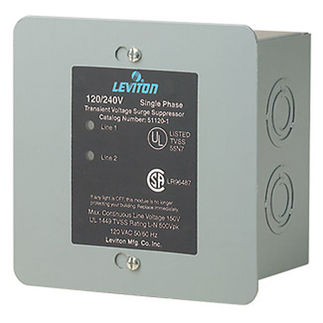 Leviton 51120-1 - AC Surge Protector -  Single Phase