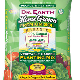 1.5 cu.ft. - Home Grown - Vegetable Garden Planting Mix - Dr. Earth
