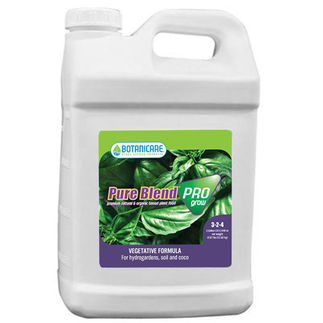 Pure Blend Pro Grow by Botanicare | 2.5 Gallons