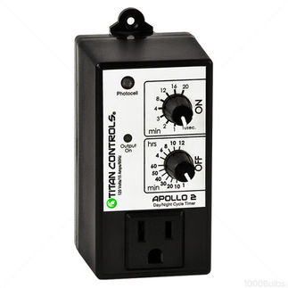 Titan Controls 702740 - Apollo 2 - Timer With Photocell
