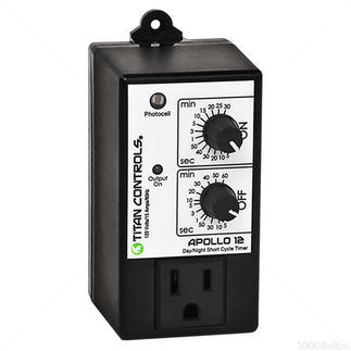 Titan Controls 702745 - Apollo 12 - Timer W/ Photocell