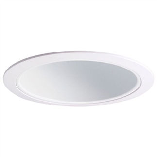Nora NTS-714W - 6 in. - White Cone Reflector Trim
