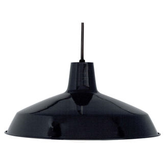 Nuvo 76-284 Industrial Pendant - Black Warehouse Shade