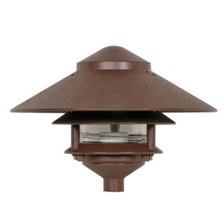Nuvo 76-635 | Pagoda Pathway Light | Old Bronze