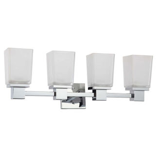 Nuvo 60-4004 | (4 Light) Vanity | Polished Chrome