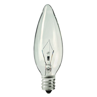 Halco 1003 - 25 Watt - B10 - Clear - Straight Tip