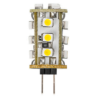 4 Watt LED T3 G4  | 3000K  Warm White | 20 Watt Equal
