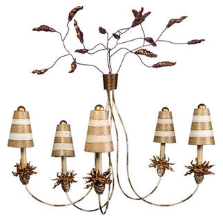 Flambeau CH1009 | Chandelier | 5 Light