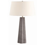 Arteriors 16453-315 | Embossed Leather Table Lamp