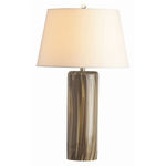 Arteriors 17420-477 - Striped Glass Table Lamp - Talia
