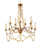 Flambeau CH1158-10 | Chandelier | 10 Light