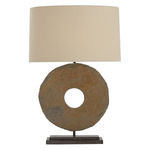 Arteriors 42638-509 - Table Lamp - Slate and Iron