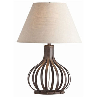 Arteriors 46649-220 | Table Lamp | Dark Iron