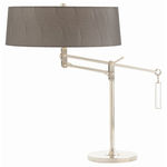 Arteriors 49933-546 - Desk Lamp - Jacqueline - Nickel