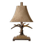 Uttermost 27208 - Table Lamp - Stag Horn Collection