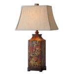 Uttermost 27678 - Table Lamp - Colorful Flowers