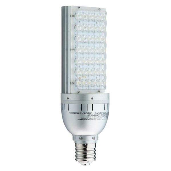 2600 lumens 35 watt led wall pack retrofit lamp 150w mh equal 5700 kelvin mogul base energy ...