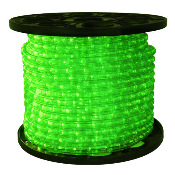 150 Ft Green LED Rope Light 1 2 In 120V
