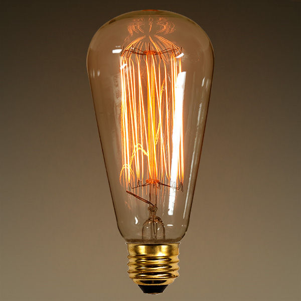 40w Vintage Antique Light Bulb Edison Style