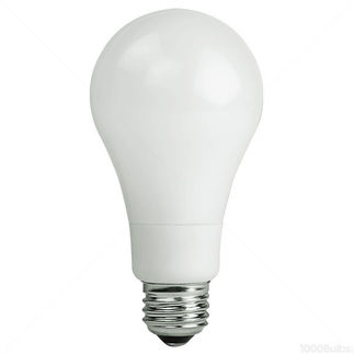 8 Watt - LED A21 - 60 Watt Equal - 5500K Stark White